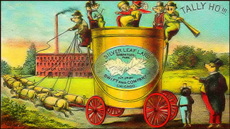 Silver Leaf lard advertisement