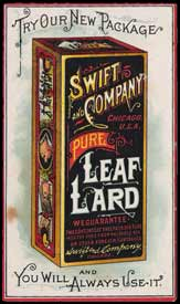 Swift Co. lard advertisement