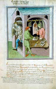 Tacuinum Sanitatis - The Salted Pork Merchant
