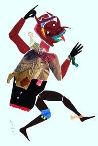 Romare Bearden - The Wart Hog