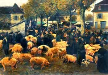 Julien Le Blant - Le marché aux cochons