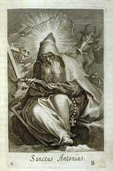Boetius Adams Bolswert - Sanctus Antoninus