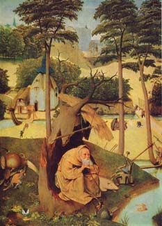 Hieronymus Bosch - Temptation of St. Anthony
