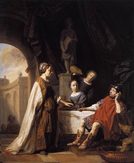 Salomon de Bray - Odysseus and Circe