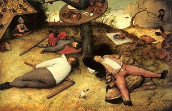 Pieter Brueghel - The Land of Cockaigne