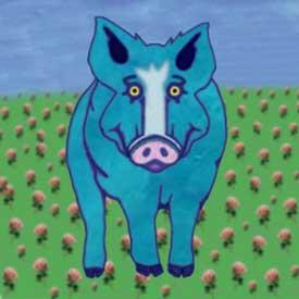 Capt. Xavier Fronius - Blue Pig