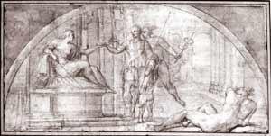 Annibale Carracci - Odysseus and Circe