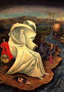 Leonora Carrington - The Temptation of St. Anthony