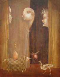 Leonora Carrington - Los Visitants