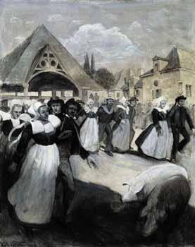 Charles Cartwright - Noce bretonne au Faouët