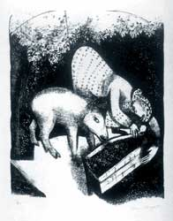Marc Chagall - The Watering Trough