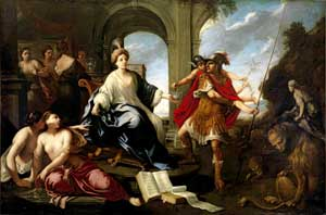 Pier Francesco Cittadini - Circe and Odysseus