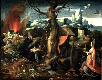Jan Wellens de Cock - The Temptation of St. Anthony