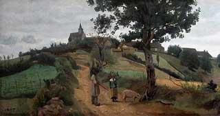 Jean-Baptiste-Camille Corot - Saint-André-en-Morvan
