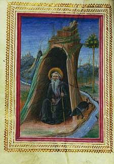 Taddeo Crivelli - Saint Anthony Abbot