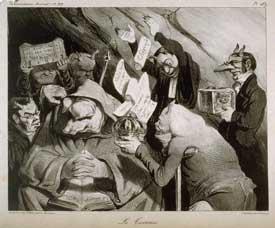 Honoré Daumier - La Tentation