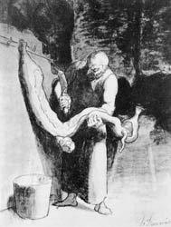 Honoré Daumier - Le Boucher