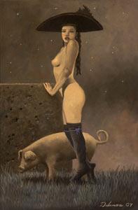 David Delamare - Napoleon's Pig