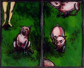 Jessica Dodge - Circe / disgruntled pigs