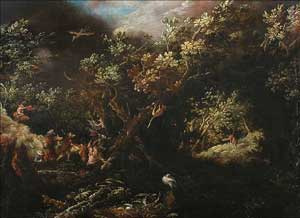 Frederick Valckenborch - The Temptation of Saint Anthony