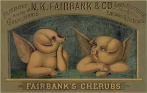 Anonymous - N.K. Fairbank's Co. trade card