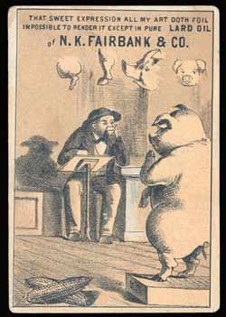 Anonymous - N.K. Fairbank's Co. trade card