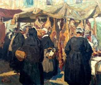 Lionel Floch - Bretonnes au marché