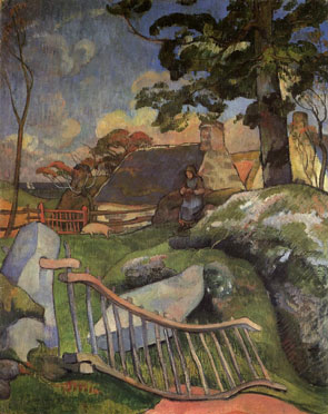 Paul Gauguin - La Barriere
