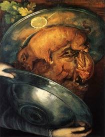 Giuseppe Arcimboldo - The Cook