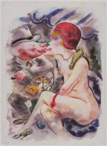 George Grosz - Circe
