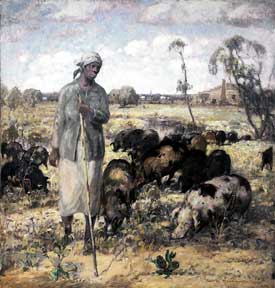 Knute Heldner: The Pig Woman - A Southern Idyll