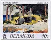 Bermuda Postage Stamp