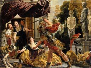 Jacob Jordaens - Ulysse et Circé