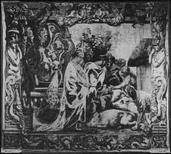 Jacob Jordaens - Kirke zmieniająca towarzyszy Odyseusza w świnie
