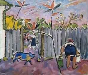 Mikhail Larionov - Le cochon bleu