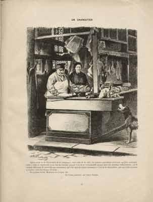 Alfred Le Petit - Un charcutier