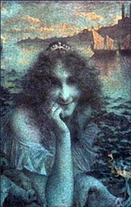 Lucien Levy-Dhurmer - La magicienne Circé