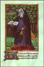 Master of Morgan - St. Anthony