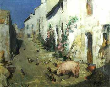 Pierre-Eugene Montezin - Cochon ou basse-cour