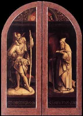 Jacob Cornelisz van Oostsanen - Triptych of the Adoration of the Magi