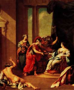 Camillo Paderni - Circe and Ulysses