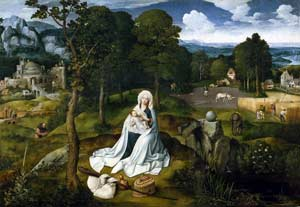 Joachim Patinir - Rest During the Flight into Egypt