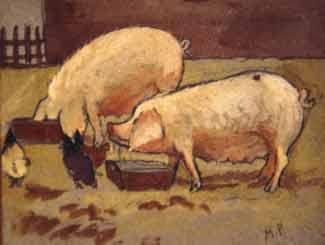 Marguerite Paulet - Porcs