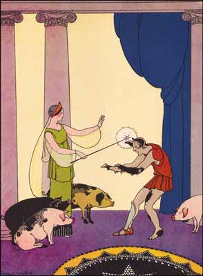 Margaret Evans Price - Circe touched the men one by one with her ivory wand