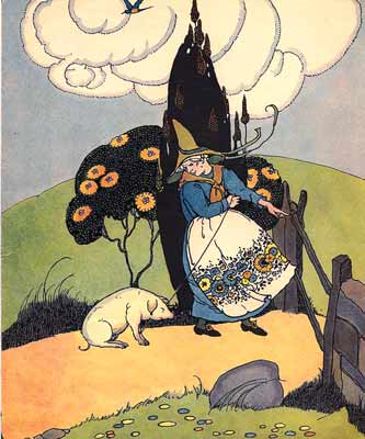 Margaret Evans Price - The Old Woman and her Pig