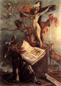 Félicien Rops - La Tentation de St-Antoine