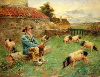 Noel Saunier - Le gardien de cochon