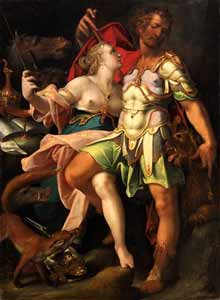 Bartholomäus Spranger - Odysseus and Circe