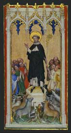 Master of Saint Veronica - Saint Anthony Abbot Blessing the Animals, the Poor, and the Sick