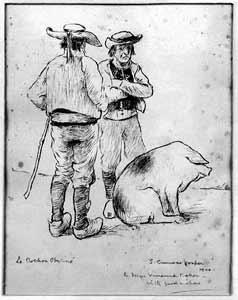 Sidney Curnow Vosper - Le Cochon Obstine